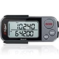 3DTriSport Walking 3D Pedometer with Clip