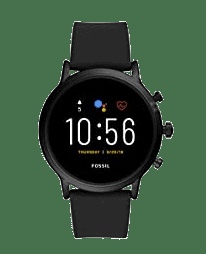 Fossil Gen 5 Carlyle Stainless Steel Touchscreen Smartwatch with Speaker