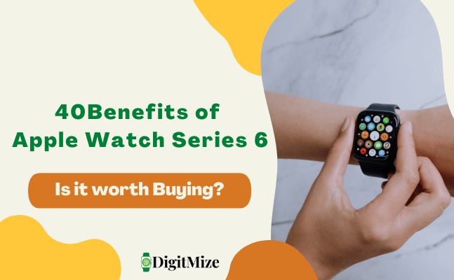 Pros and Cons of Apple Watch Series 6